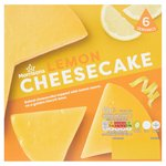 Morrisons Lemon Cheesecake