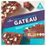 Morrisons Double Chocolate Gateau