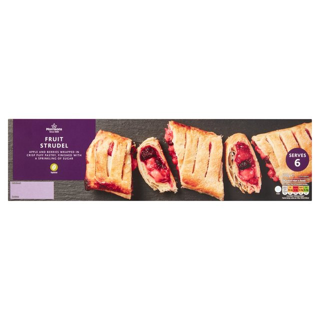 Morrisons Very Berry Strudel