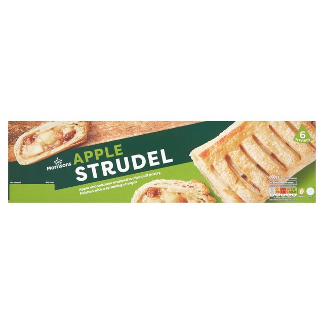 Morrisons Apple Strudel