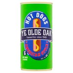 Ye Olde Oak 6 American Style Hot Dogs in Brine (560g)