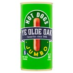 Ye Olde Oak 6 Jumbo Hot Dogs in Brine (560g)