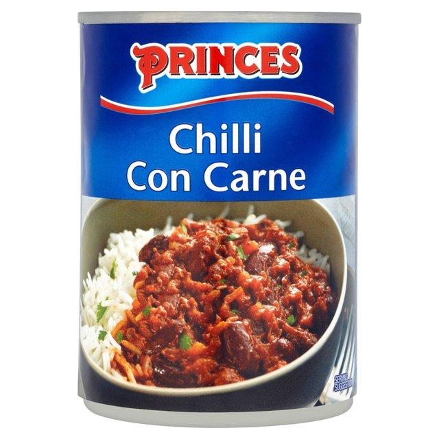 Morrisons: Princes Chilli Con Carne 400g(Product Information)
