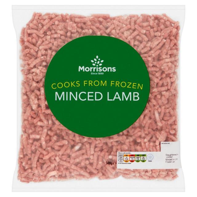 Morrisons Minced Lamb