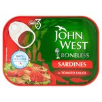 John West Boneless Sardines in Tomato Sauce (95g)