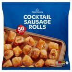 Morrisons Cocktail Sausage Rolls 50 Pack