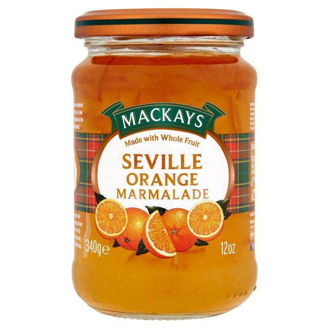 Morrisons: Mackays Seville Orange Marmalade 340g(Product Information)