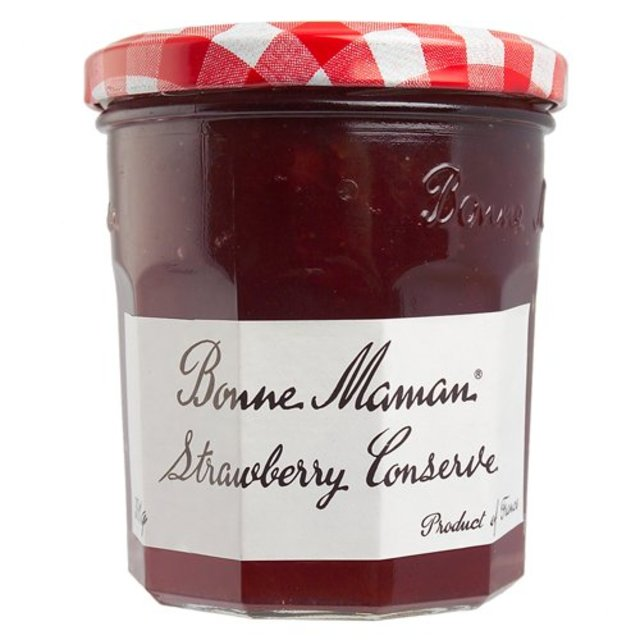 Morrisons: Bonne Maman Strawberry Conserve 370g(Product ...