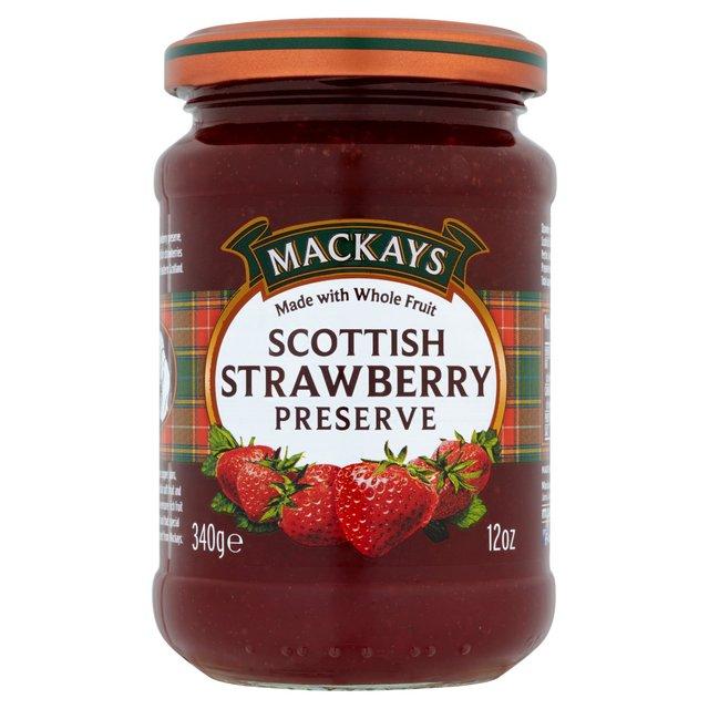 Mackays Scottish Strawberry Preserve
