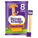 Strings & Things Cheestrings Twisted 8 pack