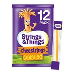 Strings & Things Cheestrings Twisted 12 Pack