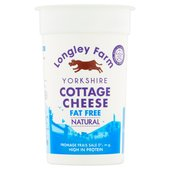 Longley Farm Virtually Fat Free Cottage Cheese