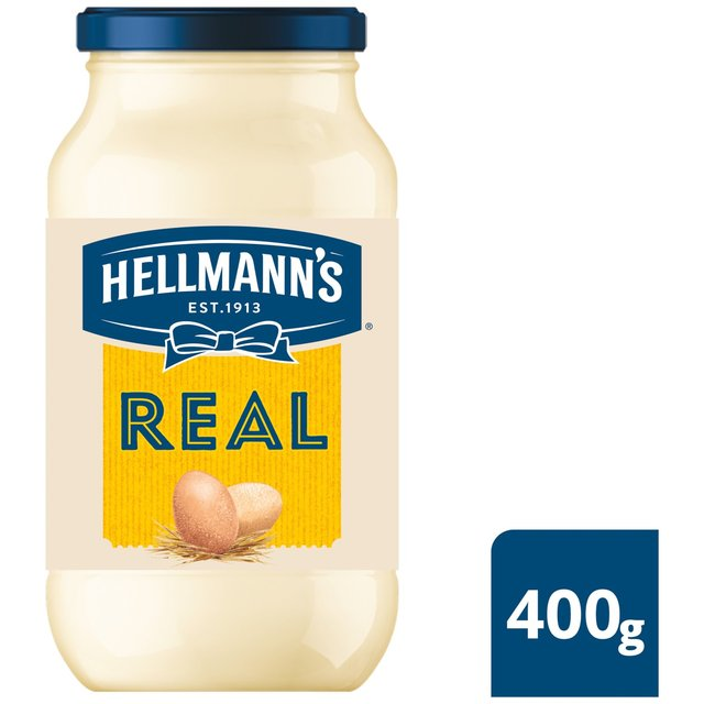 Morrisons hellmann 39 s real mayonnaise 400g product information - Make best mayonnaise ...