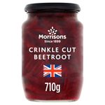 Morrisons Crinkle Cut Beetroot (710g)