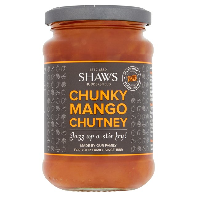 ... : Shaws Yorkshire Chunky Mango Chutney 300g(Product Information