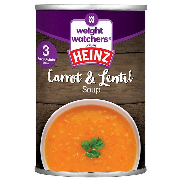 Heinz Weight Watchers Carrot & Lentil Soup