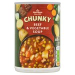 Morrisons Chunky Beef & Vegetable Soup
