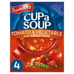 Batchelors Cup a Soup Tomato & Vegetable with Croutons 4 Sachets