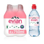 Evian Still Action Water