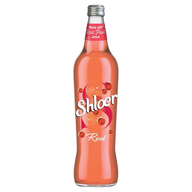 Shloer Rose Sparkling Grape Juice Drink
