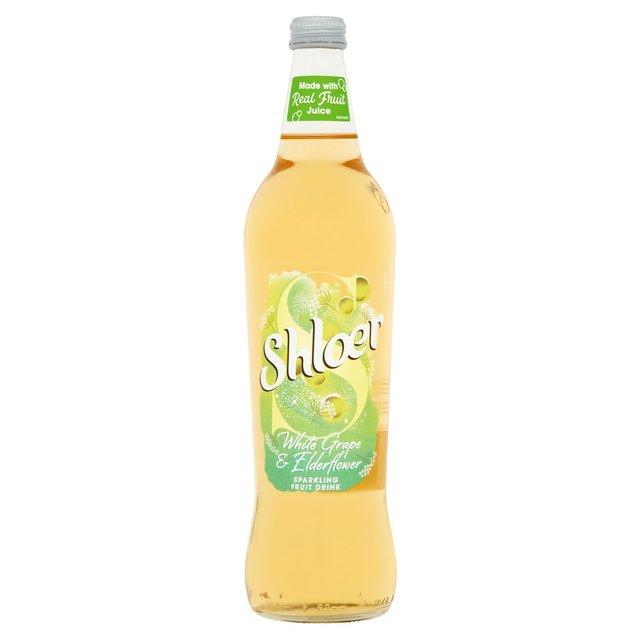 Shloer White Grape & Elderflower Sparkling Juice Drink