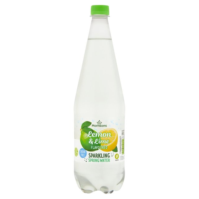 Morrisons No Added Sugar Sparkling Lemon & Lime Spring Water