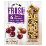 Jordans Raisin & Hazelnut Frusli Bars