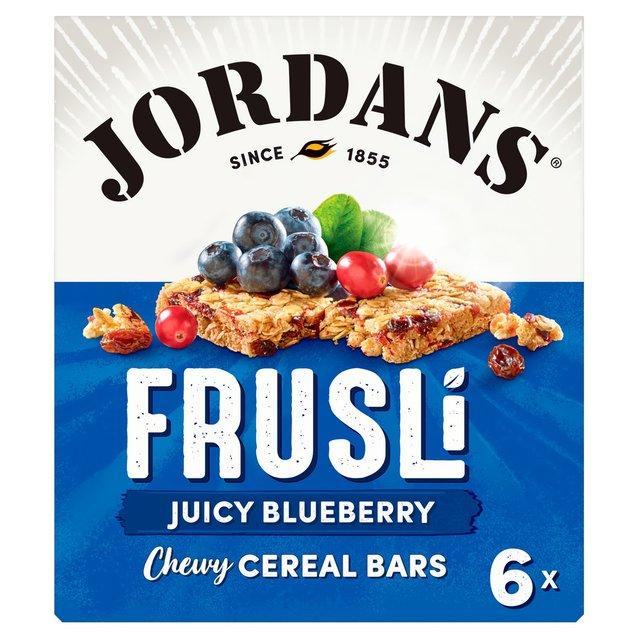 Jordans Blueberry Burst Frusli Bars