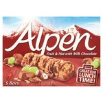 Alpen Milk Chocolate Fruit & Nut Bars