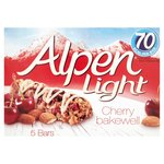 Alpen Light Bars Cherry Bakewell Bars