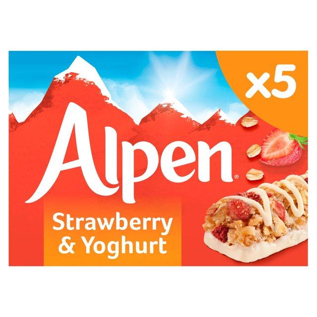Alpen Cereal Bars Strawberry & Yoghurt