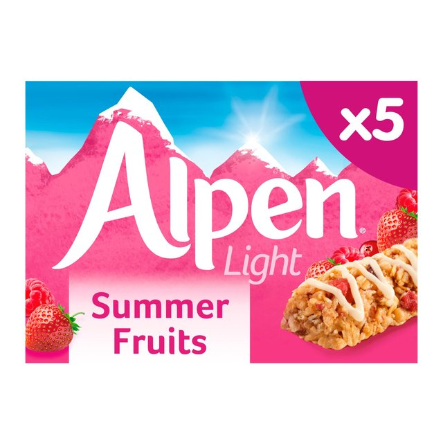 Morrisons alpen light summer fruits bars 5 x 19gproduct information alpen light summer fruits bars aloadofball Image collections