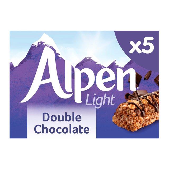 Alpen Light Cereal Bars Double Chocolate