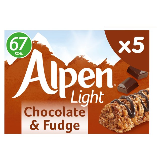 Alpen Light Cereal Bars Chocolate & Fudge