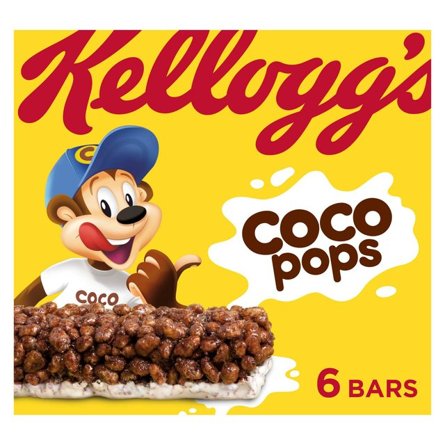 Morrisons Kellogg S Coco Pops Cereal Milk Bars 6 X 20g Product