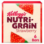 Kellogg's Nutri-Grain Breakfast Bakes Bars Strawberry