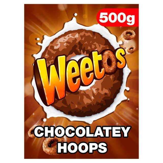 Weetos Chocolate Hoops Cereal