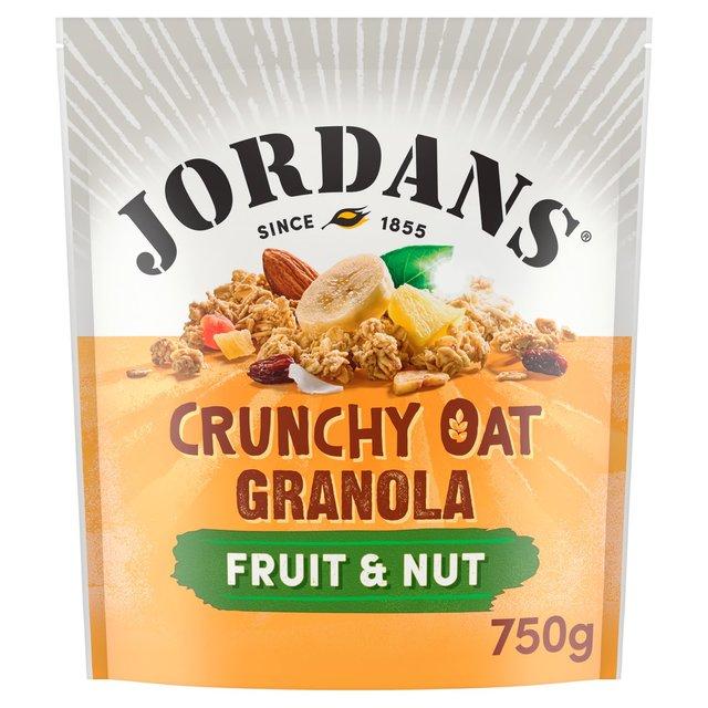 ... : Jordans Crunchy Oat Granola Fruit & Nut 750g(Product Information