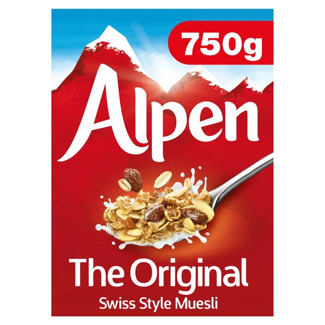 Morrisons Alpen Original Muesli 750g Product Information