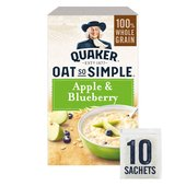 Quaker Oat So Simple Apple & Blueberry Porridge