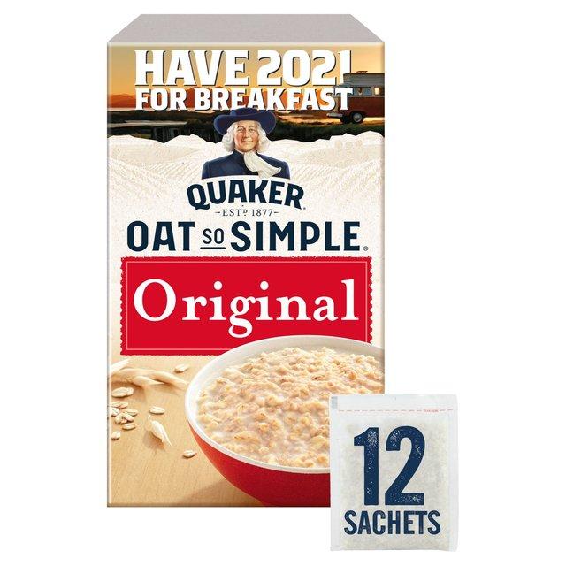 Quaker Oat So Simple Original Porridge