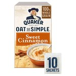 Quaker Oat So Simple Sweet Cinnamon Porridge