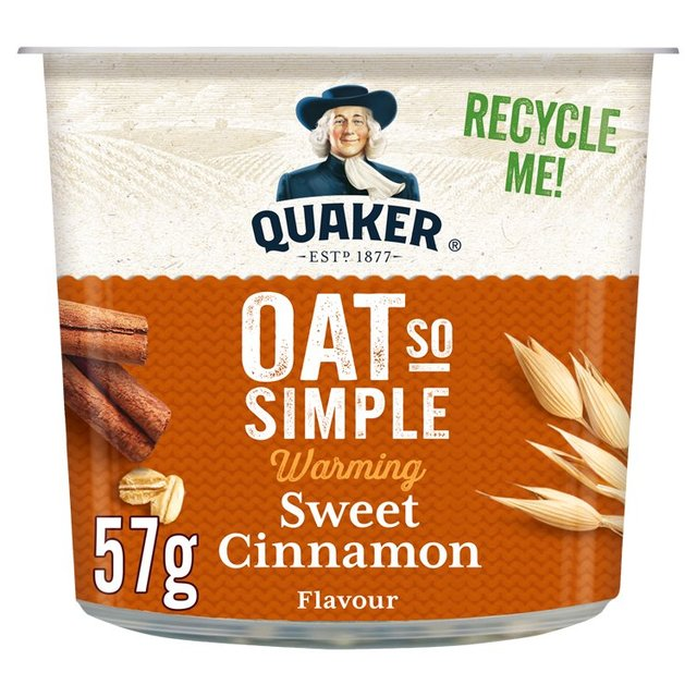 Quaker Oat So Simple Sweet Cinnamon Porridge Pot