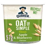 Quaker Oat So Simple Apple & Blueberry Porridge Pot