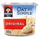 Quaker Oat So Simple Original Porridge Pot