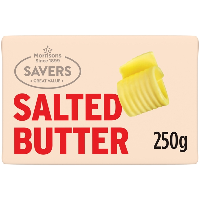 M savers Salted Butter