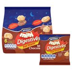 McVitie's Mini Digestives Milk Chocolate