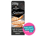 Jacob's Savours Salt & Pepper Bakes