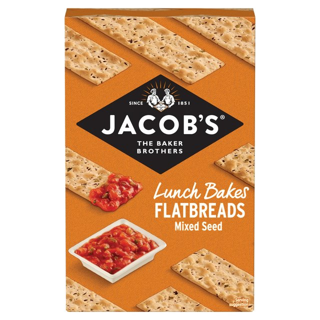 Jacob's Flatbreads Mixed Seeds