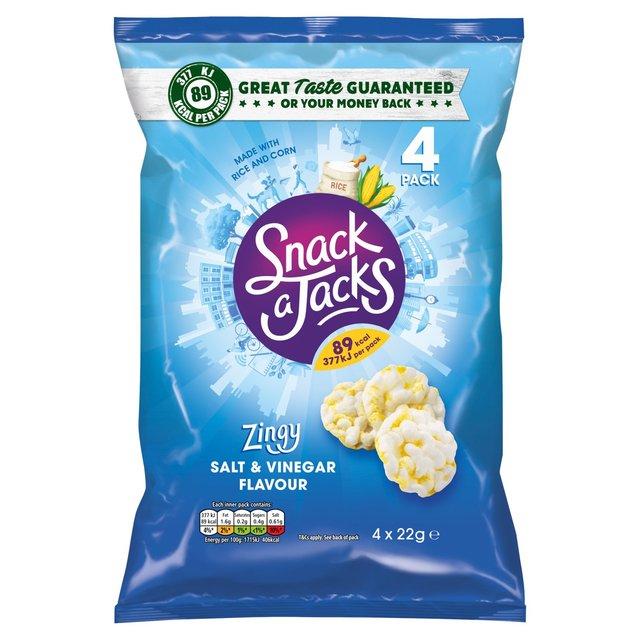Snack a Jacks Salt & Vinegar Multipack Rice Cakes